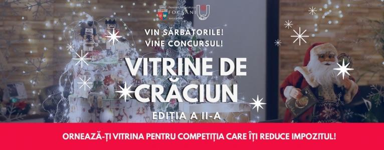 """Concurs """"Vitrine de Crăciun"""""""