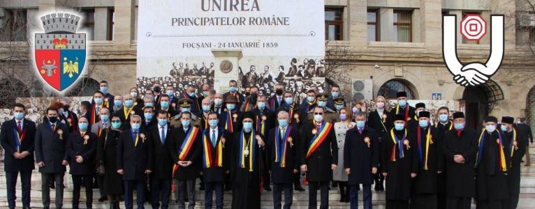 162 de ani de la Unirea Principatelor Române