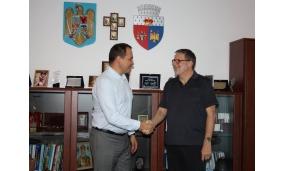 Vizita Urs Herren, ambasadorul Extraordinar şi Plenipotenţiar al Ambasadei Confederaţiei Elveţiene în România - 10 septembrie 2016