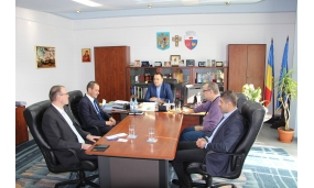 Vizita Excelentei Sale Mihael Zupancic, Ambasadorul Republicii Slovenia - 11 noiembrie 2016