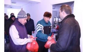 Cadouri persoane fără adăpost - 20 decembrie 2016