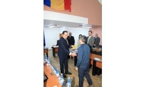 Conferirea plachetei cetățean de onoare sportivului Adrian Croitoru, antrenorului emerit Adrian Alaci și medicului Radu Florențiu - 26 ianuarie 2017