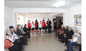 Vizită la Căminul pentru persoane Vârstnice cu ocazia zilei de Dragobete - 24 februarie 2017