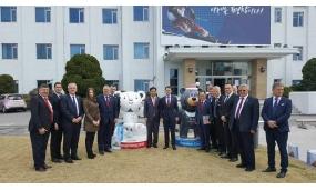 Vizita delegației AMR în turneul Asiatic - 2-14 aprilie 2017