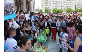 """Premierea consursului de machete organizat de Primăria Focșani """"Cel mai frumos loc de joacă"""" - 1 iunie 2017"""