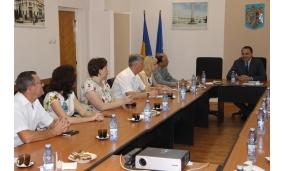 Primire delegații de Zilele Municipiului Focșani - 7 iulie 2017