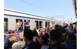 Trenul regal - Întâlnire cu Principesa Elisabeta și Principele Radu - iulie 2017