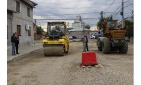 Reabilitarea străzii Cotești - 12 octombrie 2017