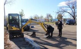 Start lucrări Parc Tematic - 1 noimebrie 2017