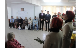 Moș Crăciun la Căminul pentru persoane Vârstnice - 21 decembrie 2017