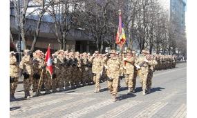 """Bun venit militarilor din Brigada 280 Infanterie Protecţia Forţei """"Inimi Neînfricate"""" din Focșani - 8 martie 2018"""