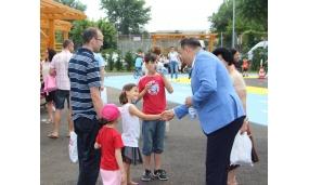 Inaugurarea Parcului Tematic - 1 iunie 2018