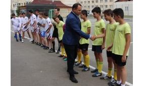 "Inaugurarea terenului de sport al Scolii Gimnaziale ""Alexandru Vlahuta"" - 11 iunie 2018"
