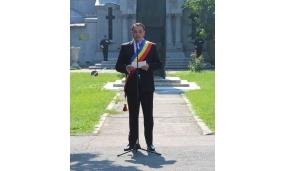 """Depunere de coroane la Mausoleul Eroilor din Sud - """"Vrancea Eroica 3 - 6 august 2018"""""""