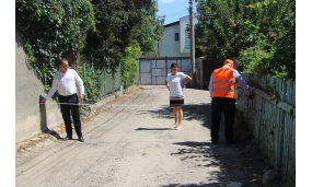 Start lucrarilor pe strazile Poligonului, Alexandru Sahia, Fdt. Alexandru Sahia si Lunei - 9 august 2018