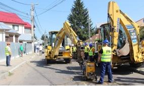 """Ultima parte a proiectului """"Extinderea și modernizarea sistemului de alimentare cu apă și canalizare, județul Vrancea – Vranceaqua, etapa a II-a"""" 24.08.2018"""