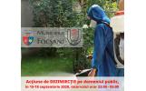 Primăria Municipiului Focșani va demara o acțiune de dezinsecție