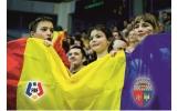 Elevii focșăneni susțin Echipa Națională de Fotbal