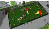 Copiii din Focșani au un nou loc de joacă