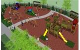 Copiii din cartierul Gară au un nou loc de joacă