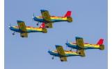 Avioane deasupra Focșaniului de Ziua Aviației Române