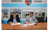 Firma TELEKOM România modernizează sistemul de iluminat public din Focșani
