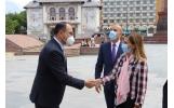 Ambasadorul Republicii Turcia s-a întâlnit cu Primarul Municipiului Focșani
