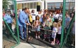 Locul de joacă din Cartierul Gară a fost inaugurat