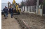 Au început lucrările de reabilitare a străzii Cincinat Pavelescu