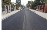 Primul strat de asfalt și pe strada Ion Creangă