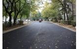 Strada Emil Racoviță - primul strat de asfalt