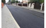 A fost turnat primul strat de asfalt și pe strada Alecu Russo