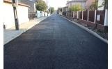 Primul strat de asfalt și pe strada Albinei