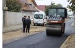 Străzile Rodnei și Jiliște - primul strat de asfalt