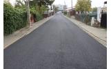 Strada Transilvanie - primul strat de asfalt