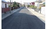 Primul strat de asfalt și pe strada Putnei