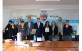 Primirea delegației din orașul Borgaro Torinese (Italia)
