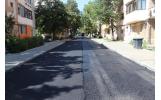 Gloriei și Traian Ionescu - primul strat de asfalt