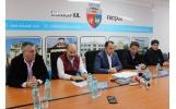 """Parteneriat cu  echipa de fotbal Viitorul Constanța și Academia """"Gheorghe Hagi"""""""