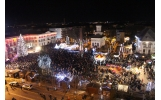 Revelion în Piața Unirii din Focșani