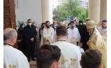 """Zi de mare sărbătoare la Catedrala """"Sfânta Parascheva"""" din Focșani"""