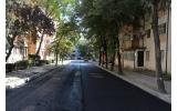 Întreaga stradă Ghinea Dorinel a fost asfaltată