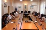 Primirea delegațiilor ce reprezintă orașele Majdanpek (Serbia) și Cernauti (Ucraina) cu ocazia Zilelor Focșaniului
