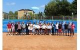 """Premierea câștigătorilor turneului internațional de tenis """"Vrancea Trophy"""" și a jucătorilor echipei de fotbal CSM 2007 Focșani"""