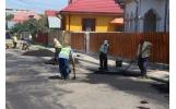 Lucrările de frezare și plombare a străzilor afectate de sezonul rece.