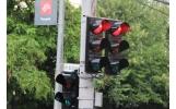 """Semafoarele din zona intersecției """"Fortuna"""" au fost astăzi înlocuite."""