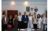 Vizita delegațiilor din Tivoli și Cernăuți cu ocazia Festivalului de Blues