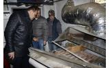 Repararea centralei termice din strada Pinului