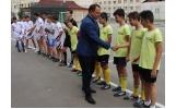 """Inaugurarea terenului de sport al Scolii Gimnaziale """"Alexandru Vlahuta"""""""