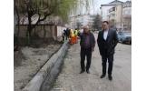 Continuăm lucrările pe strada Gheorghe Magheru